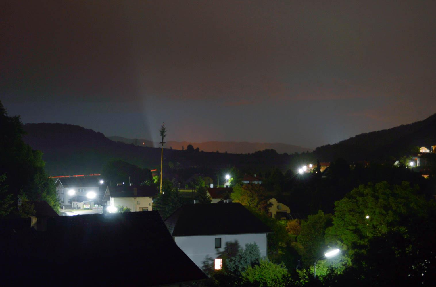 Nachtfoto Zelking